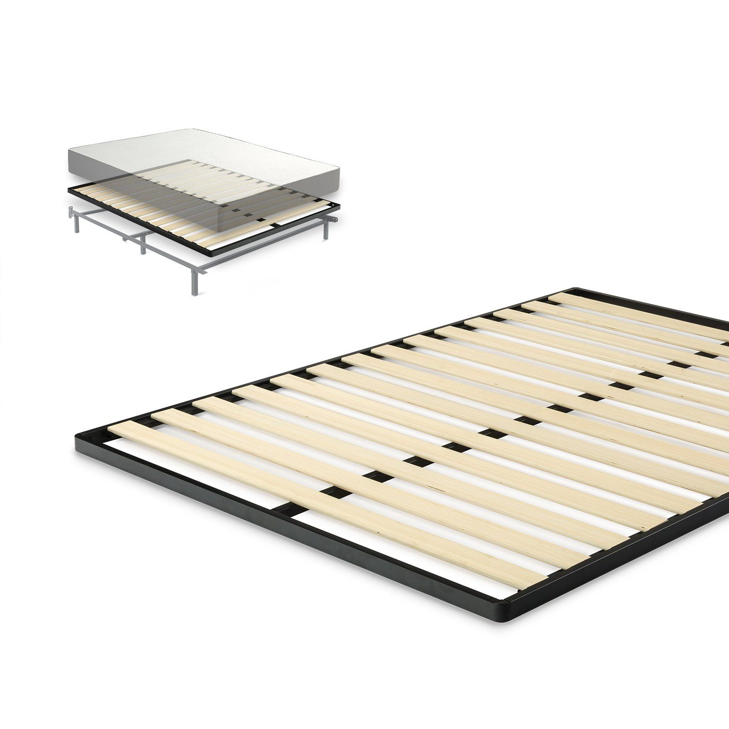 mattress profile sizes spring framesbox foundation picture low of frame in twin bed lovely