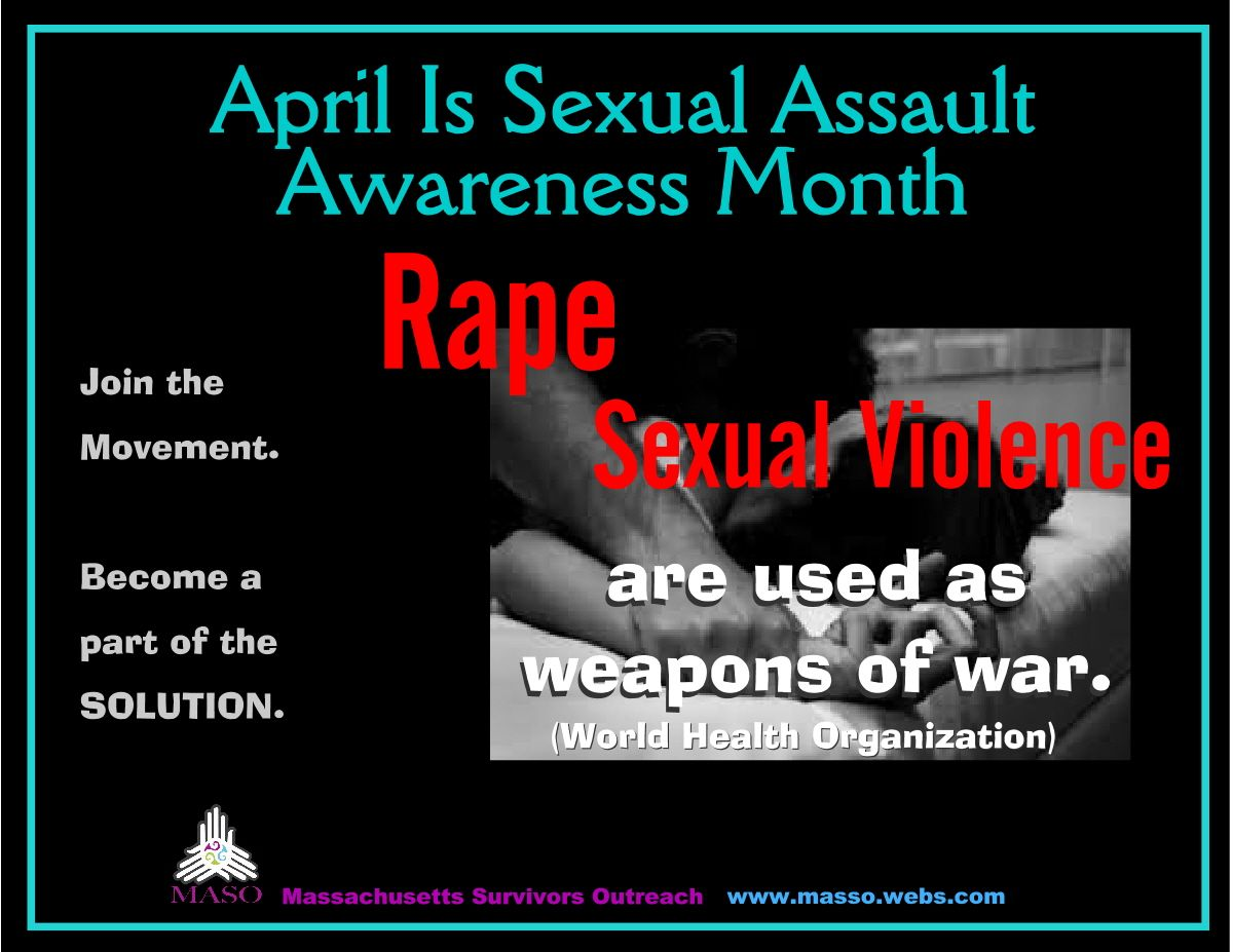 Join The Solution  >> April Is Sexual Assault Awareness Month Join The Movement And Be