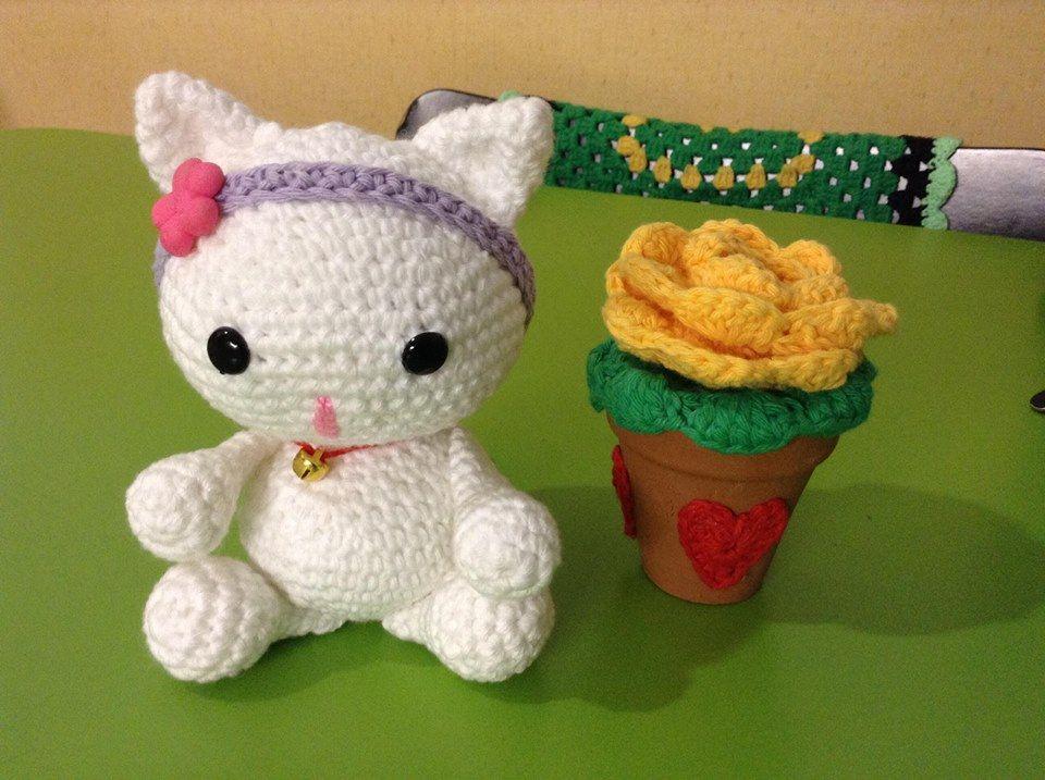 PATTERN: Kaylie the Kitten - Crochet cat pattern - amigurumi cat ...   717x960