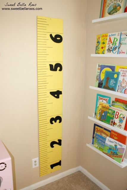 Diy Growth Chart Pottery Barn Kids Knockoff Diy Home
