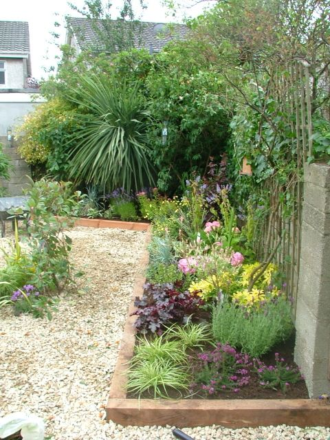 Garden Design Ideas For Small Triangular Gardens : Small garden plant ideas planting plan pdf design my