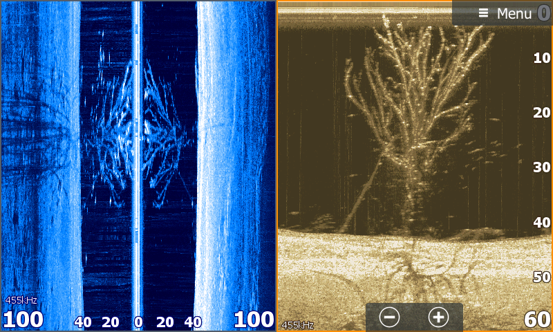 Down Imaging Or Side Imaging Fish Finder Image Bass Fishing Tips