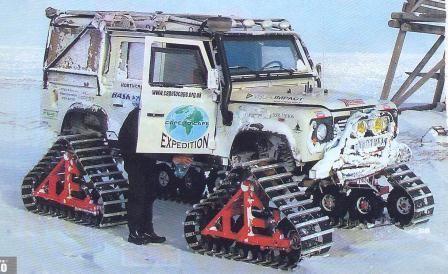 Tracked-Land-Rover-crossing-Bering-Strait #racetrack #autoracing http://perrisautospeedway.com