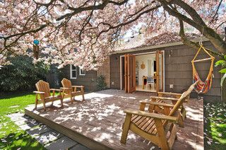 Tree covered deck from houzz http://www.houzz.com/ideabooks/45142094?utm_source=Houzz&utm_campaign=u1136&utm_medium=email&utm_content=gallery2