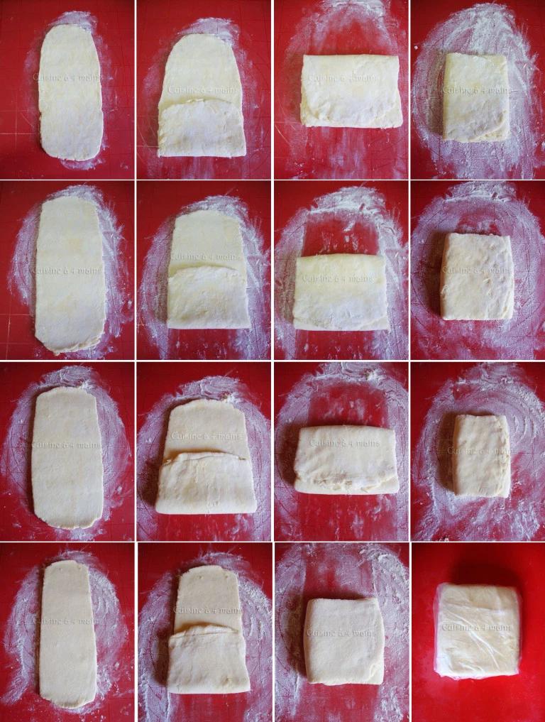 pâte feuilletée express 20 – cuisineà 4 mains #patefeuilleteerapide Pâte feuilletée express et facile | Cuisine à 4 mains #patefeuilleteerapide