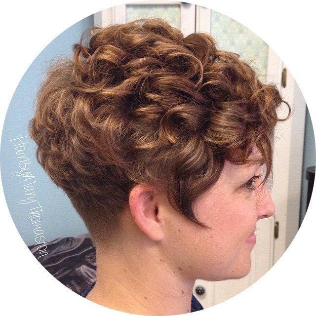 19459 Short Permed Hair Short Hair Styles Permed Hairstyles