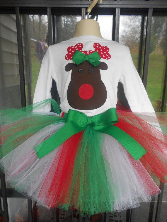 Tacky christmas tutu navide o pinterest navidad - Disfraces infantiles navidenos ...