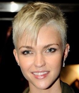 Short Hair One Side Shaved Fashions Haircuts