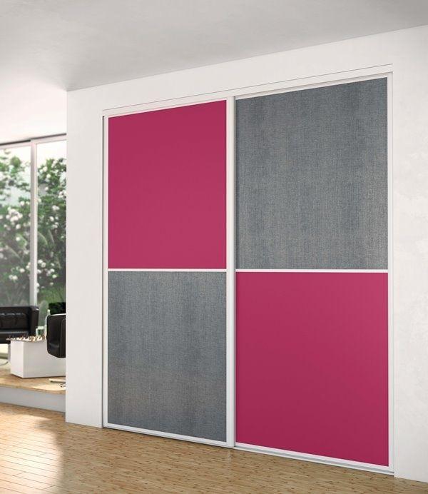 Sogal #Méridien #porte #placard #pink Rose / Pink Pinterest