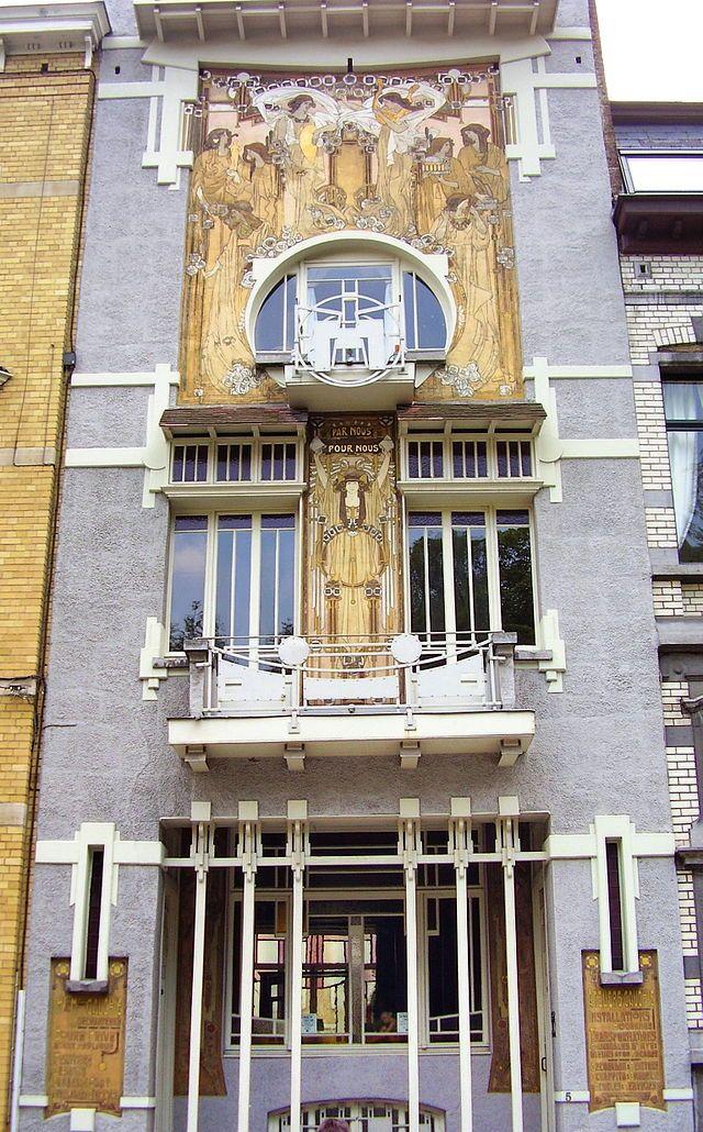 Maison Cauchie Wikiwand Maison Art Deco Art Nouveau Art Decoratif