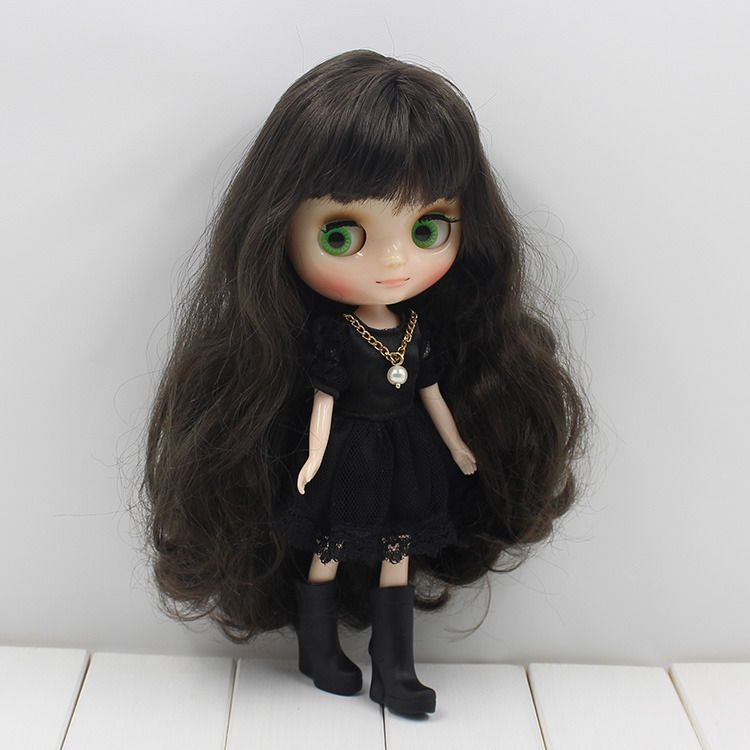 """Takara 8/""""  Neo Blythe Middie Nude Doll from Factory"""