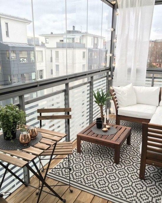 Ideen und Tipps zum kleinen Balkon gestalten #balkongestalten kleinen balkon ges…