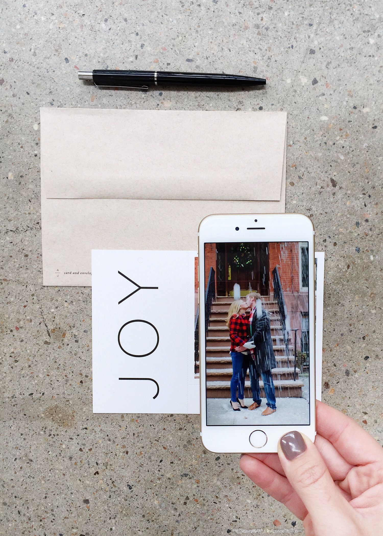 Be The First On The Fridge Print Holiday Cards From Your Iphone In