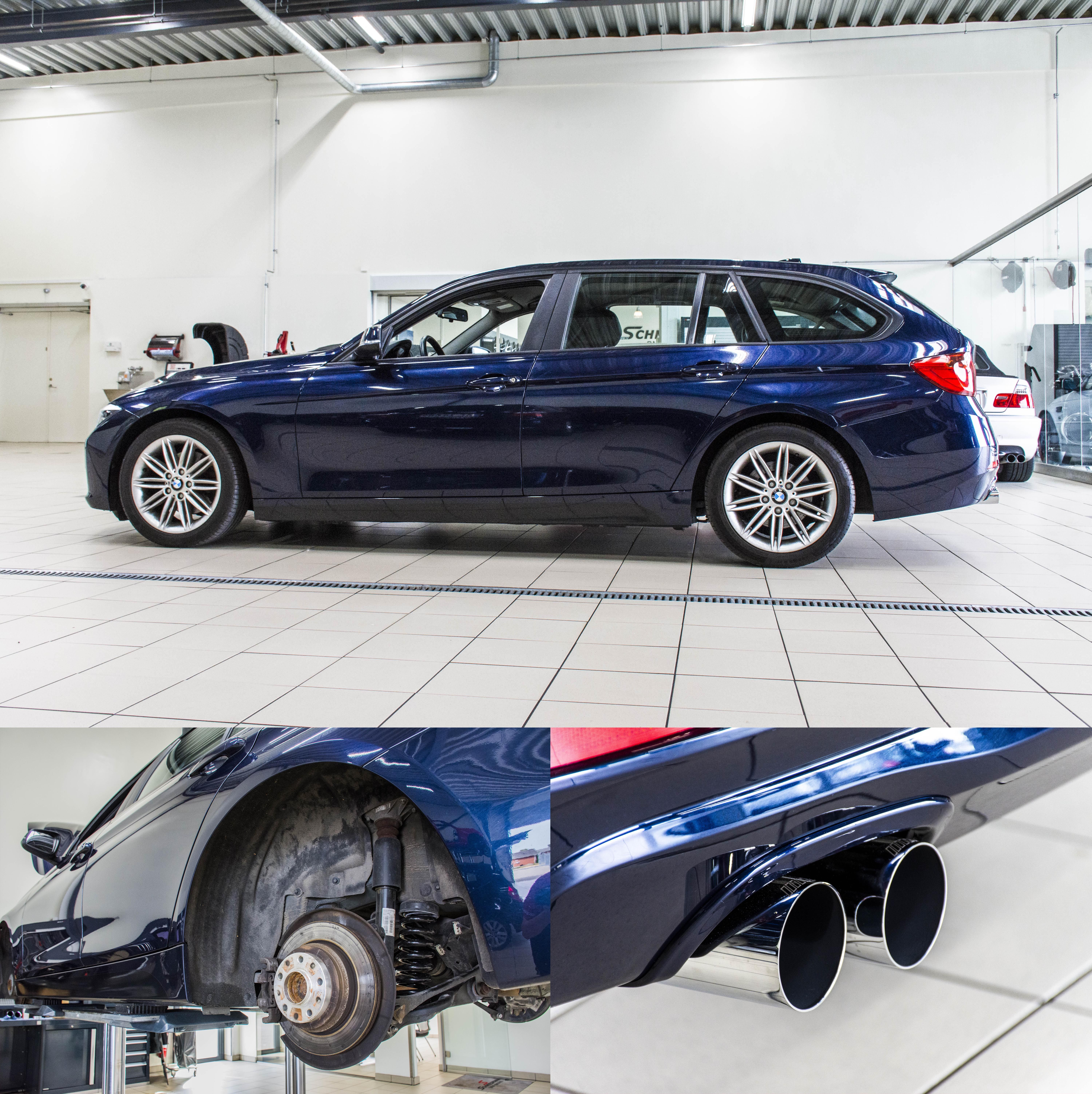 Bmw 3 Series 330d M Sport Shadow Edition Touring Estate Touring Special Edition