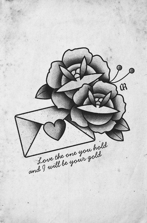 love letter tattoo flash love letter rose tattoo design best tattoo