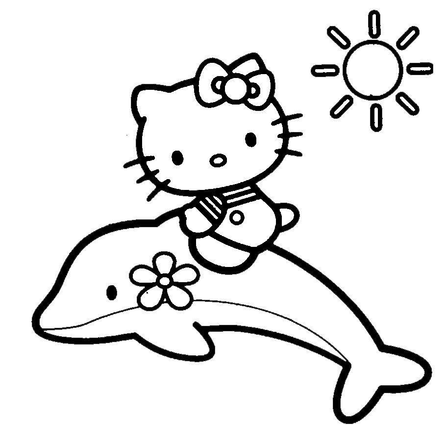 30 Nuova Disegni Da Colorare Hello Kitty Galleria Di Immagini
