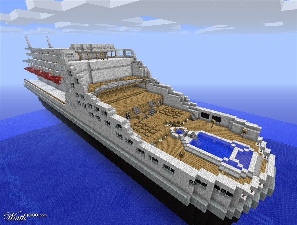 pics for biggest house in the world minecraft