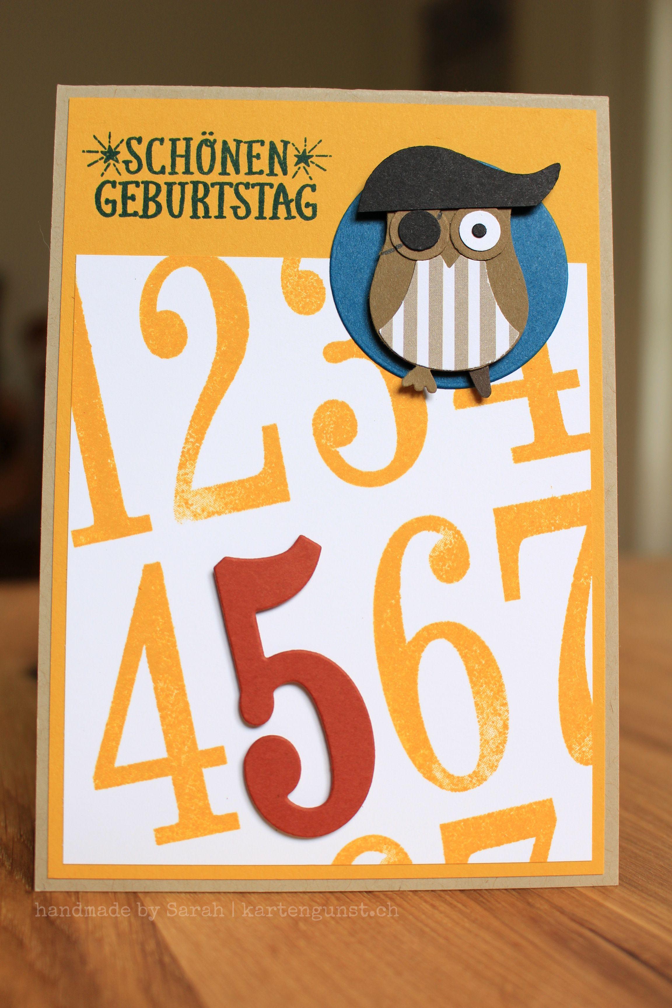 Geburtstagskarte/Birthday Card