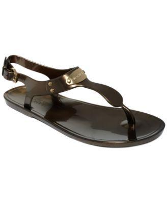 129e9e11f6a MICHAEL Michael Kors Plate Jelly Sandals