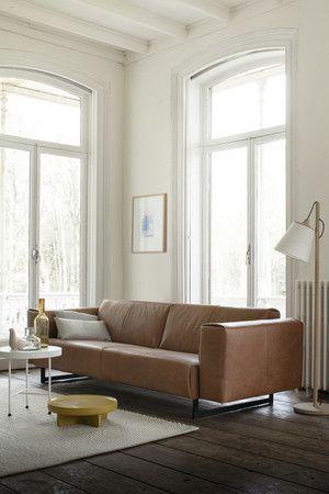 Tweezits Design Bank.Topform Zitbanken Twee Zits Bank Bruin Morrison Smellink Wonen