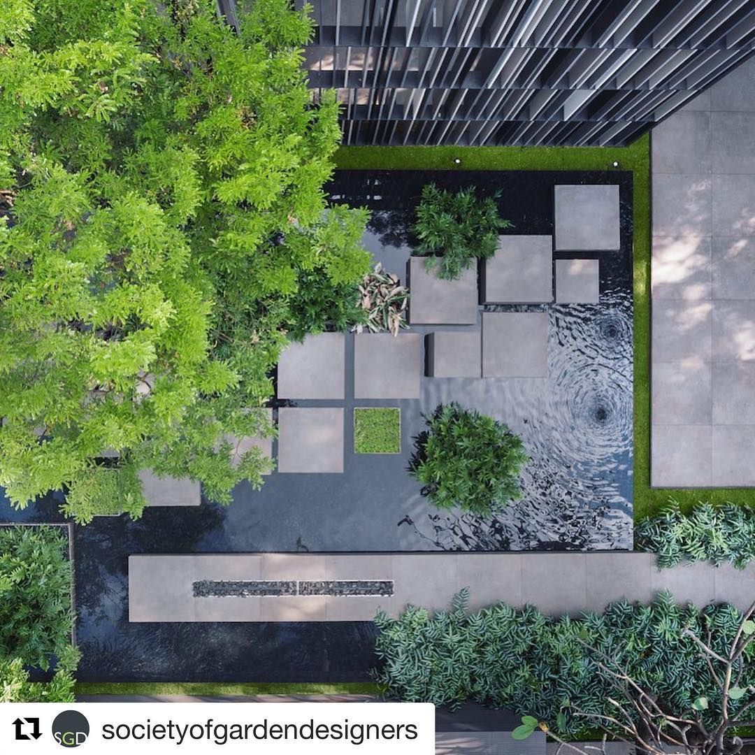 Alexhanazaki Societyofgardendesigners The Relationship Between Shapes And Landscape Architecture Design Landscape Design Landscape Architecture