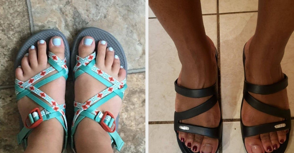 14 Sandals People With Flat Feet