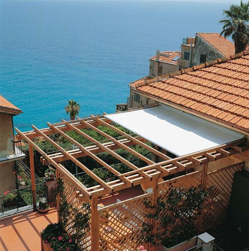 Toldo lona corredera unopiu for the home en 2018 - Techos de lona ...