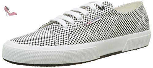 Superga 2950 COTU, Baskets mode mixte adulte - Blanc (White), 46 EU
