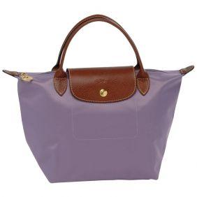 Longchamp Le Pliage Kleine Folding Short Handle Handtaschen Mauve ...