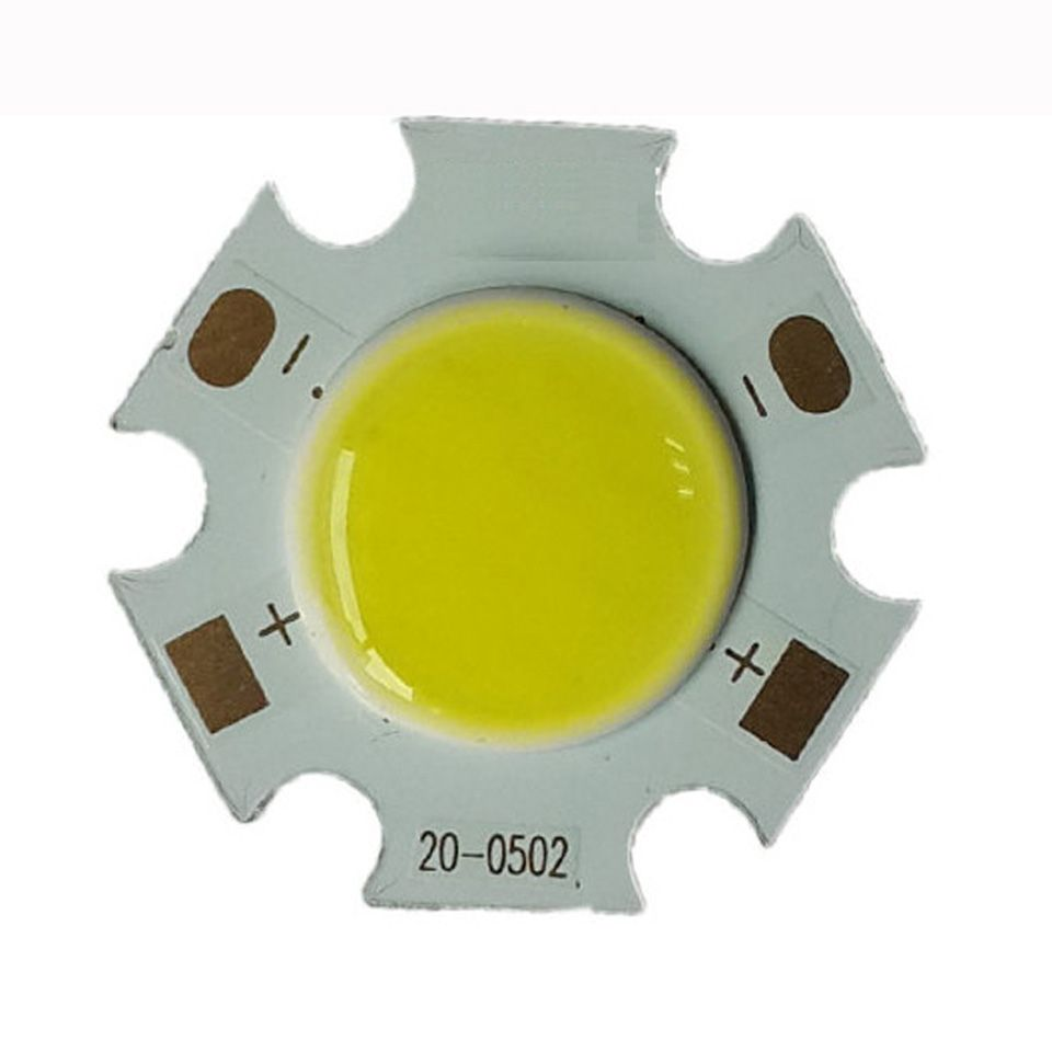 10pc Led Beads Cob Chip Lighting Area 11mm Current 300ma 3w 5w 7w 9w Round Cob Chips For Led Bulb Spotlight Ceiligh Lg Light Accessories Led Bulb Pure Products