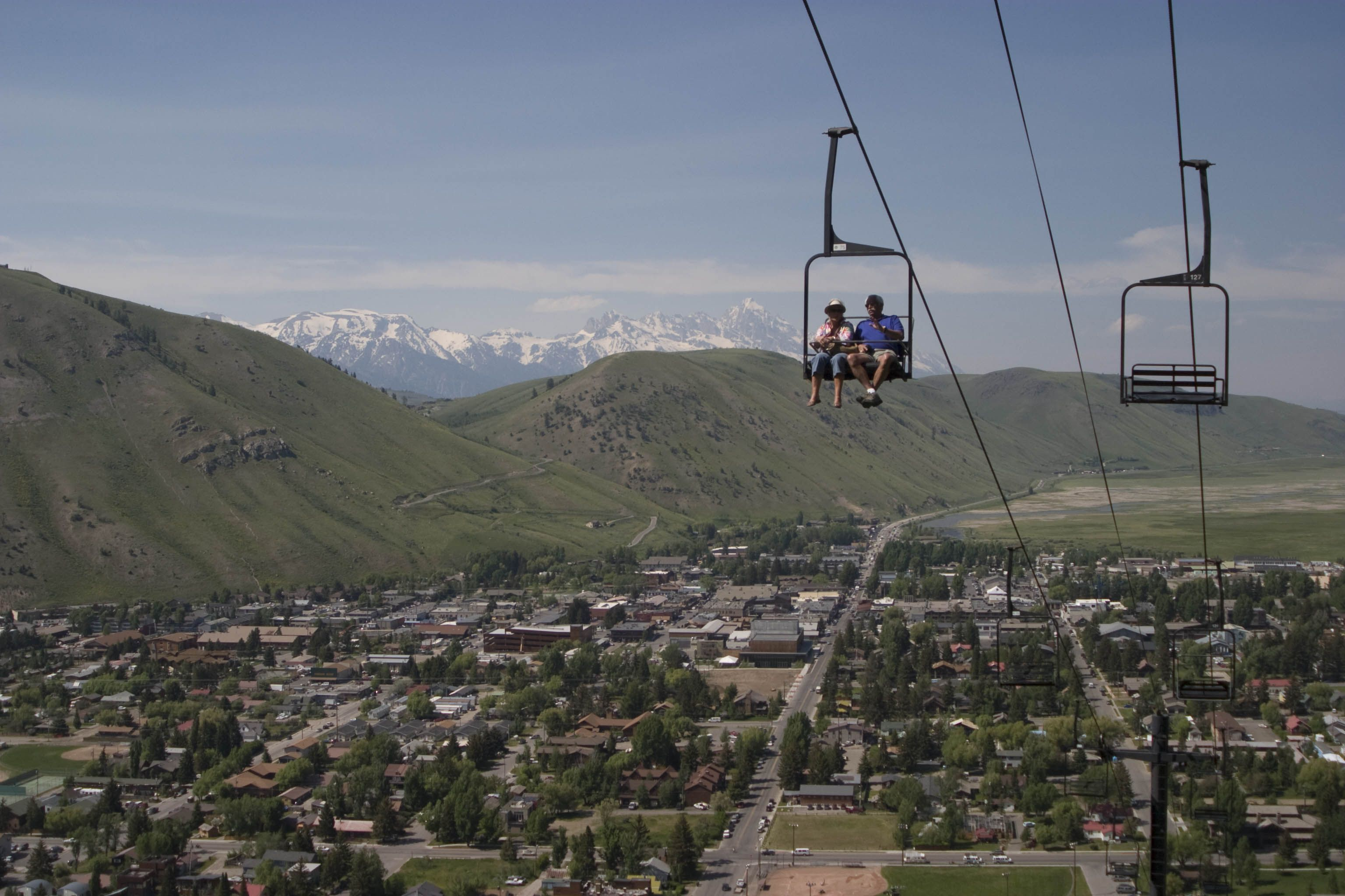 Scenic Chairlift Rides Up Snow King Mountain Are A Must Do Simply Take In The View Or Hike Around Up Top You Won T Be Scenic Kings Mountain Summer Activities