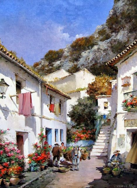 Cuadros Al Oleo Paisajes Pueblos Viejos Inspiration 3 Pinturas