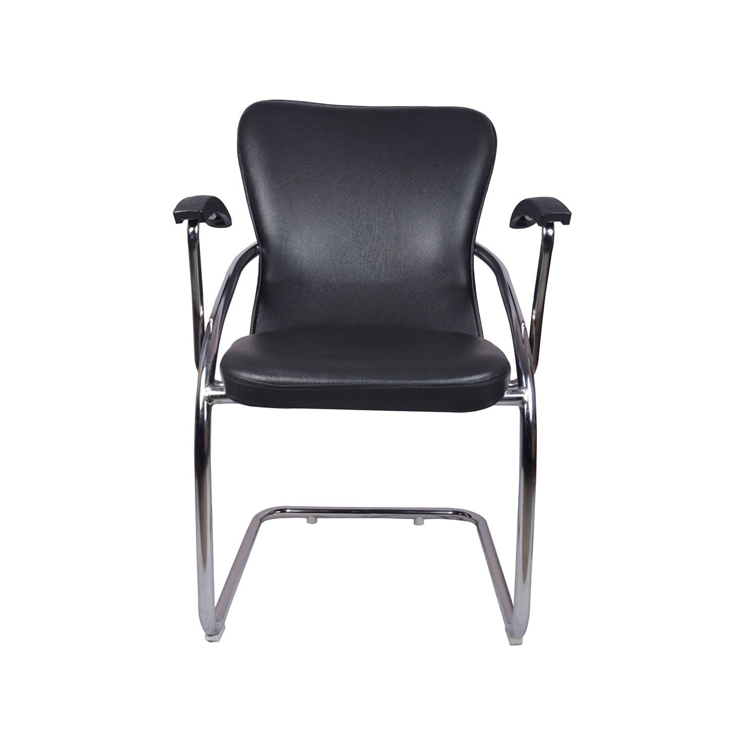 """""""THE DOBLAR MID BACK GUEST CHAIR BLACK""""  Office Furniture Online, Modular Office Furniture Chairs Manufacturers and Supplier Delhi 