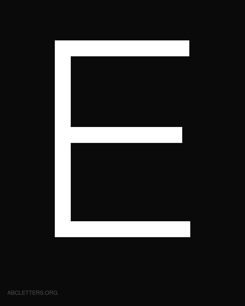 Large abc letters white black e explore pinterest canvas large abc letters white black e spiritdancerdesigns Images