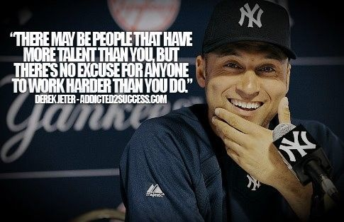 Derek Jeter Inspirational Derek Jeter Quotes Baseball Quotes