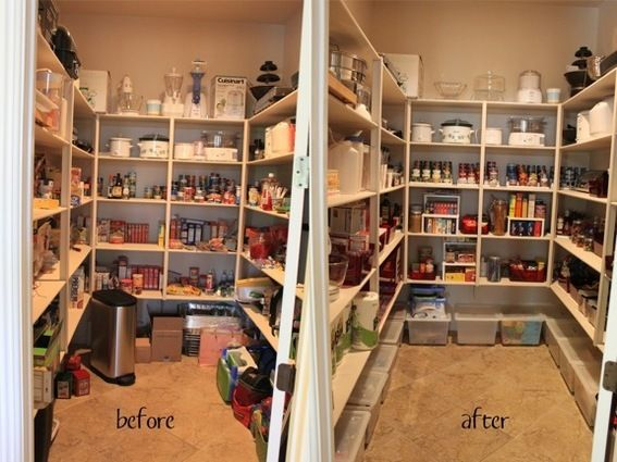 6 Sensational Pantry Makeovers