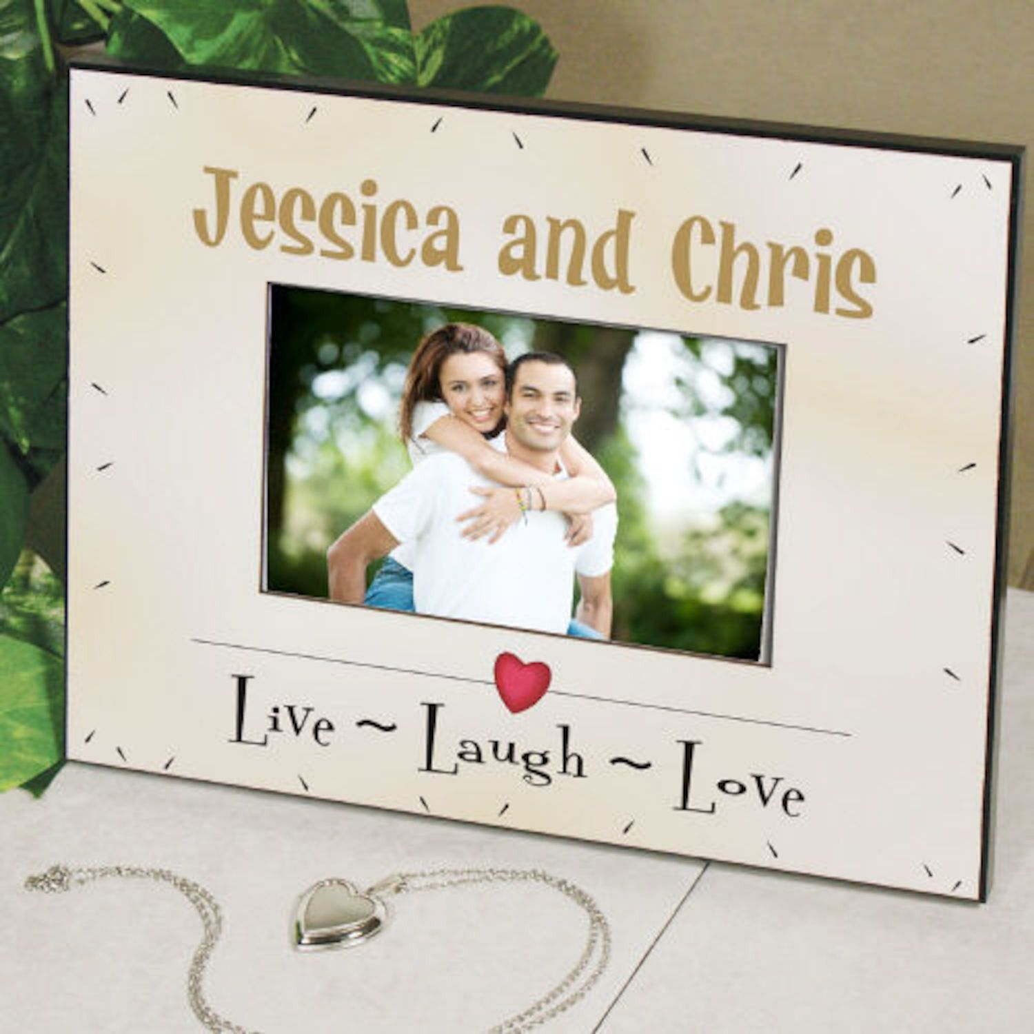 Personalized Live Laugh Love Printed Frame | Products | Pinterest ...