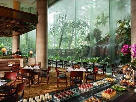 The Dining Room At 5 Star Hotel Sheraton Towers Singapore This Hotels Address Is 39 Scotts Road Orchard 228230 And Have 420 Rooms
