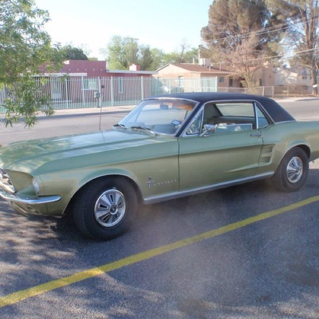 1967 Mustang Mine Didn T Have A Vinyl Top 1967 Mustang Mustang Dream Cars