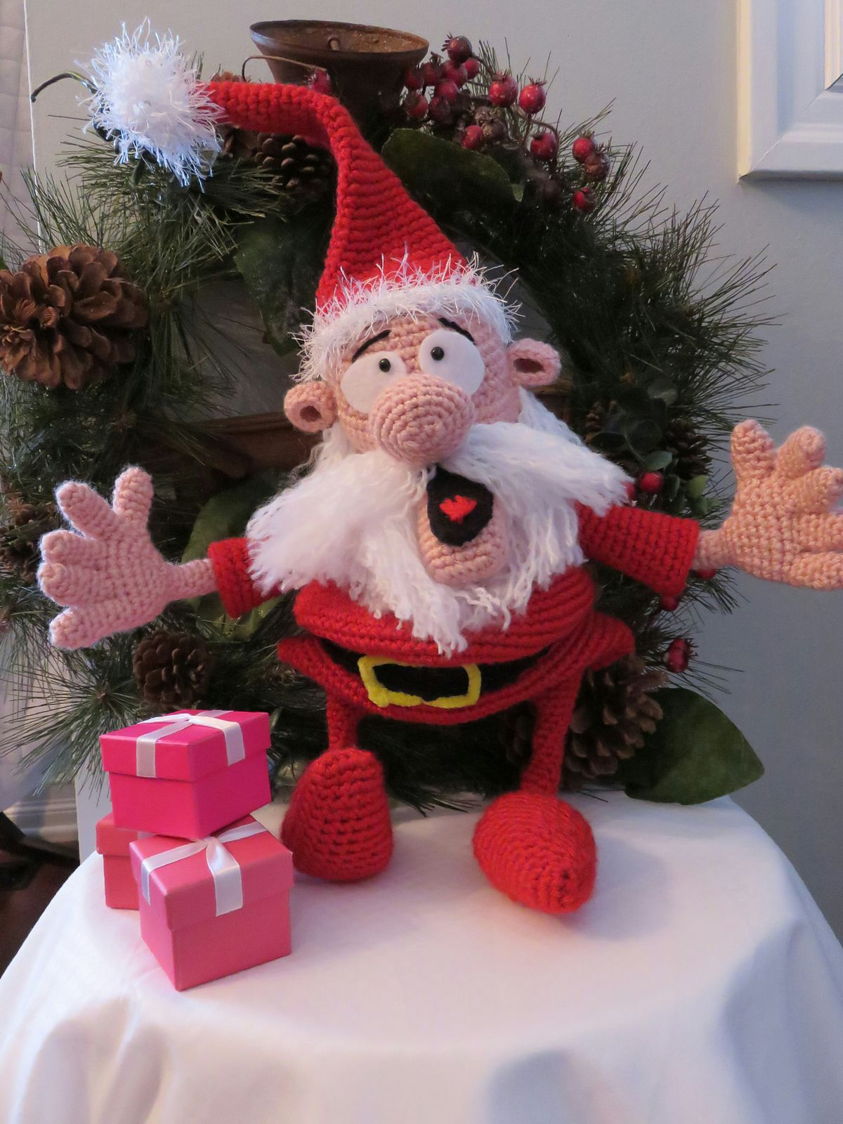 Ravelry: afrsss' Santa Claus Amigurumi
