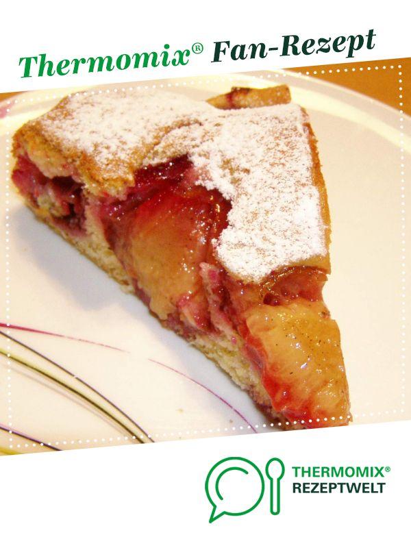 Obstkuchen Mit Pflaumen Zwetschgen Ohne Fett Rezept Backen