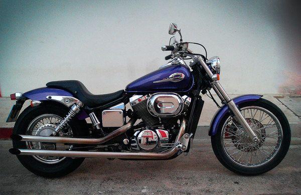 honda shadow 400 cc motorcycles fotos de motos honda. Black Bedroom Furniture Sets. Home Design Ideas