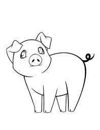 Line Drawings Of Pigs Google Search I N S P I R A T I O N