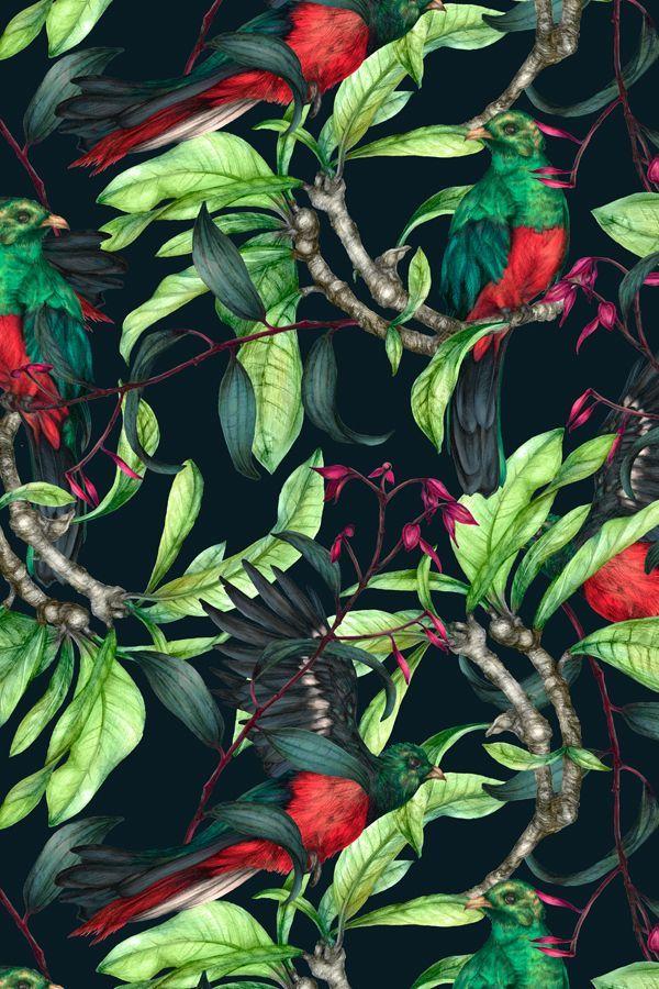 July print Colourway 2 © Shelley Steer