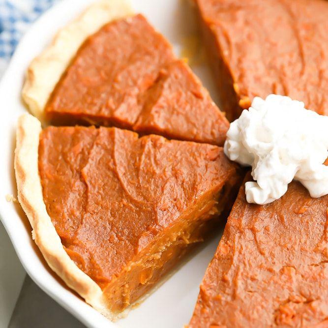 Vegan Sweet Potato Pie Nora Cooks In 2020 Vegan Sweet Potato Pie Sweet Potato Pie Vegan Sweet Potato