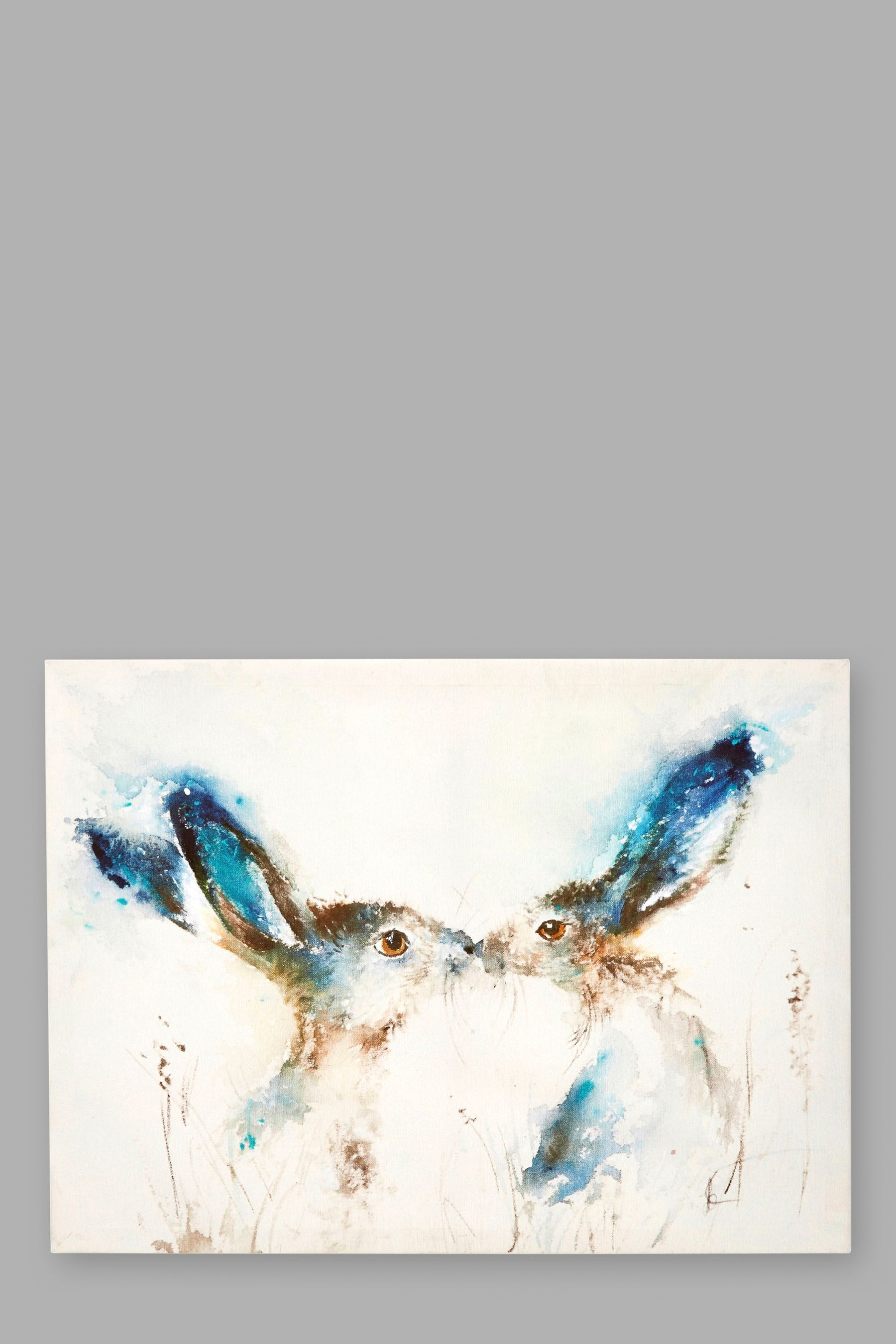Bedroom Paint Ideas Ireland buy tickly kisses hare canvas online today at next: rep. of