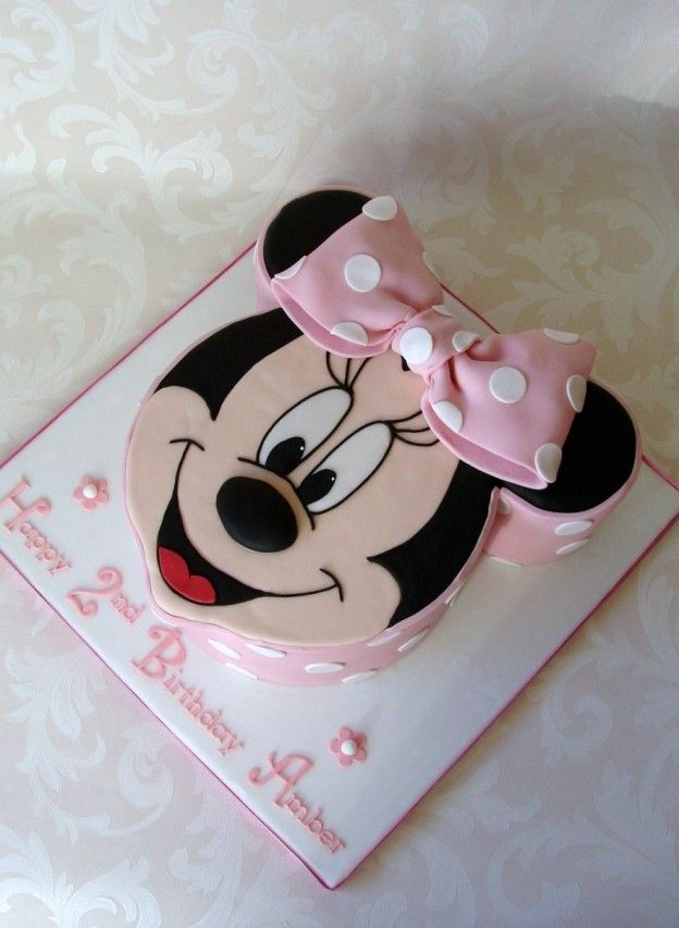 Terrific Minnie Mouse Cake Pan With Images Minnie Mouse Cake Minnie Funny Birthday Cards Online Barepcheapnameinfo