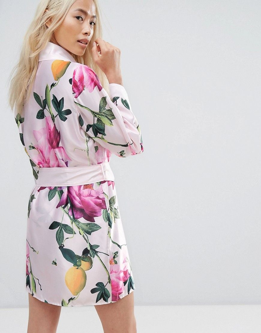 17fff5bf5c9f12 B By Ted Baker Citrus Bloom Kimono - Pink