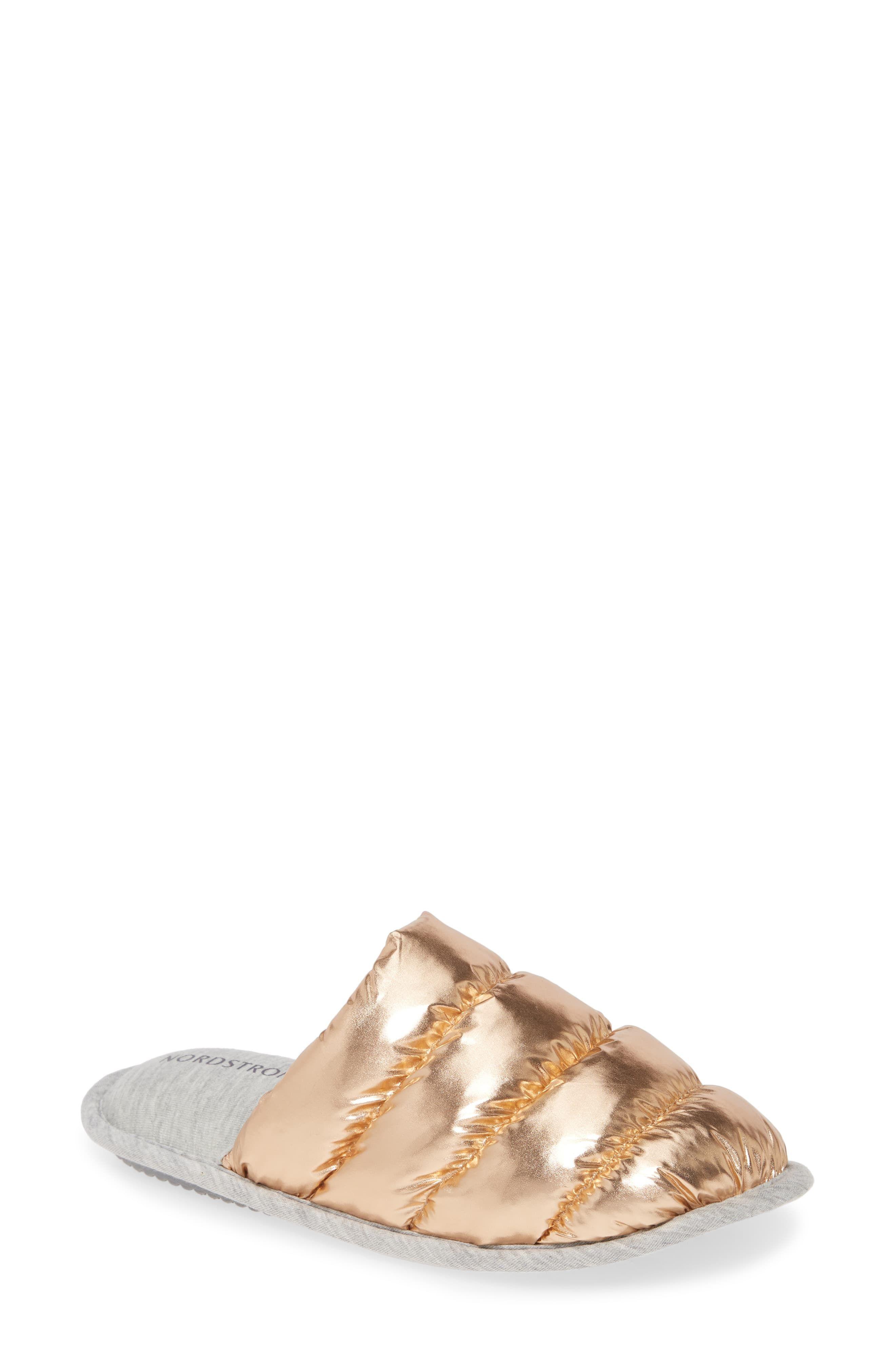 Puffer Slipper (Women   Womens slippers, Nordstrom gifts