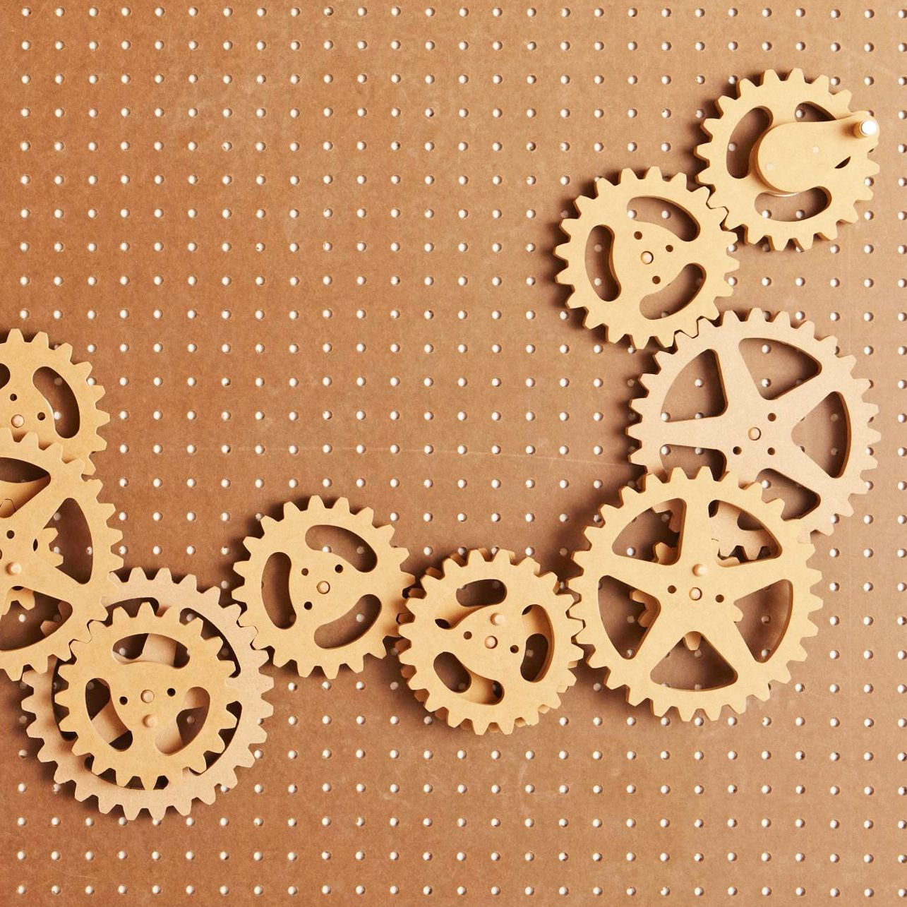Scrollsawn Gears Turn The Kids Loose With A Pile Of These